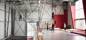 Salle d'entraînement - La Grainerie