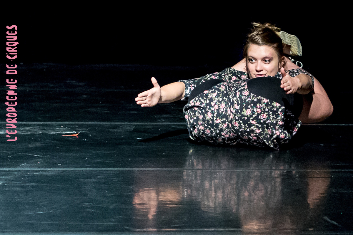 Mélanie Pauli pour l'Européenne de Cirques