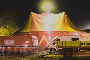 Le cirque Baraka à la Grainerie en décembre 2020