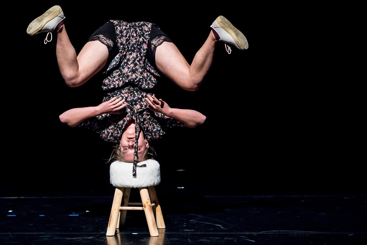 Mélanie Pauli et son spectacle Dori
