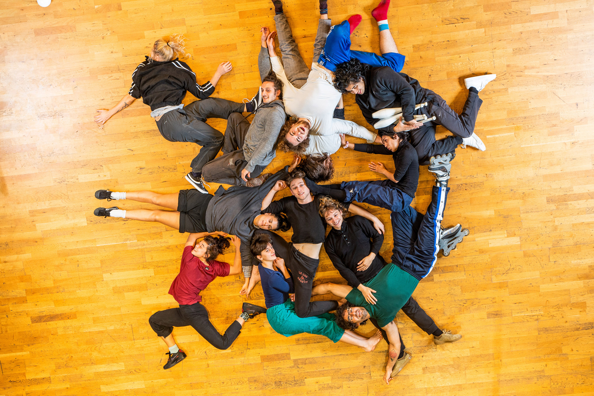Les élèves de 2eme année de formation professionnelle de l'Esacto'Lido