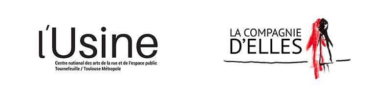 logo de la cie d'Elles et de l'Usine